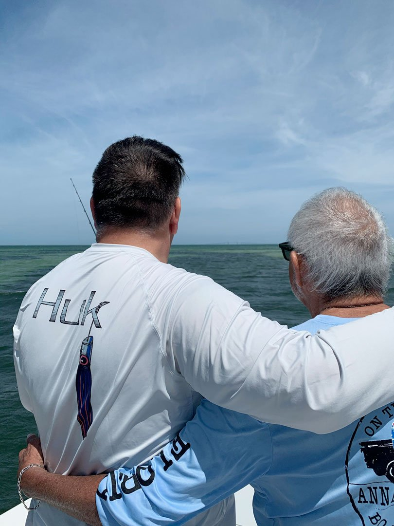 Anna Maria Eco Tours Father and Son
